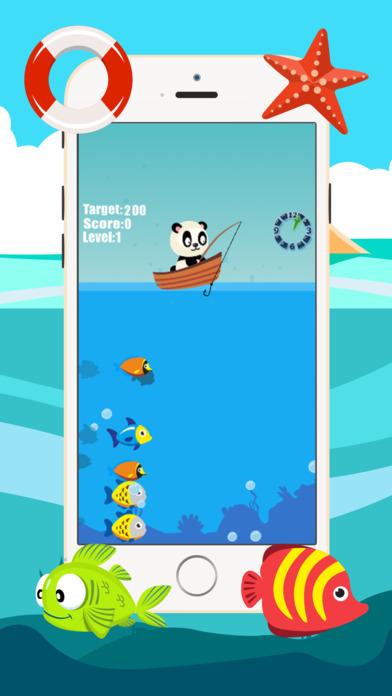 熊猫钓鱼游戏为孩子2-5岁