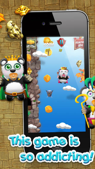 熊猫宝宝熊淘金王国战役 - 超级跳跃类游戏免费版! Baby Panda Bears Battle of The Gold Rush Kingdom - A Super Jumping Game FREE Edition!