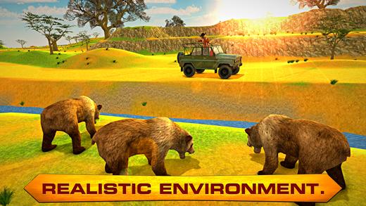 熊猎人 - 野生动物园狩猎&射击模拟器