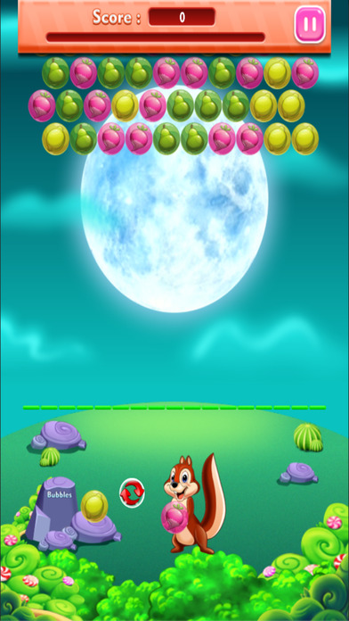 松鼠流行泡泡射击水果之城:比赛3高清免费游戏