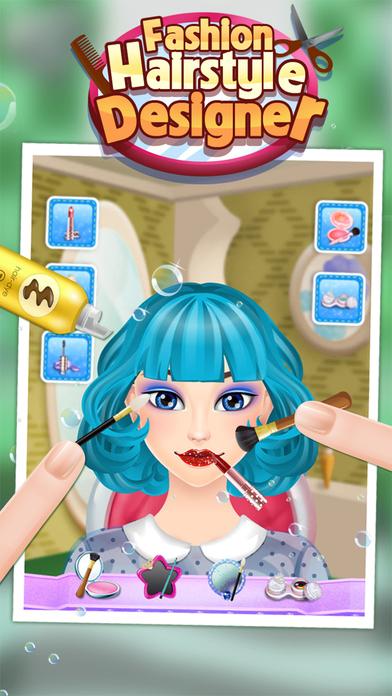 时尚发型设计 - 儿童游戏