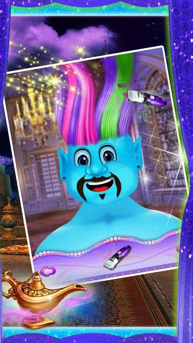 精灵发廊游戏 - 免费美发沙龙 - 神奇的化妆和换装