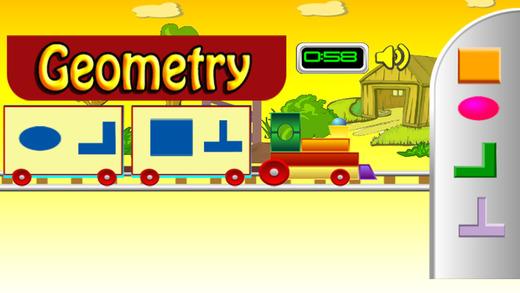 几何 - 数学游戏的孩子学习的乐趣