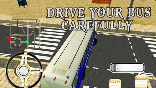 城市公交车,模拟器 - 真正的巴士驾驶和极端停车场模拟游戏