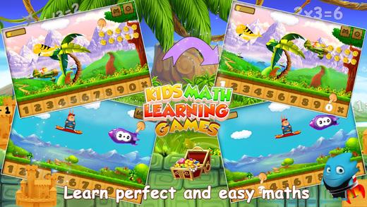 孩子们数学学习游戏