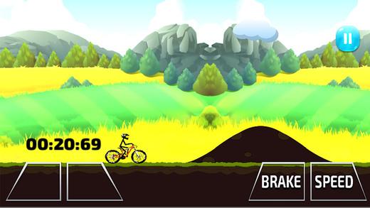 火柴人战斗BMX - 山地车下坡