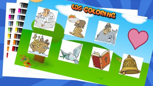 画画涂色 耶稣 基督基督教 彩页 - 儿童画画填色涂鸦 : 快乐的涂色书 儿童益智画笔上色 画像