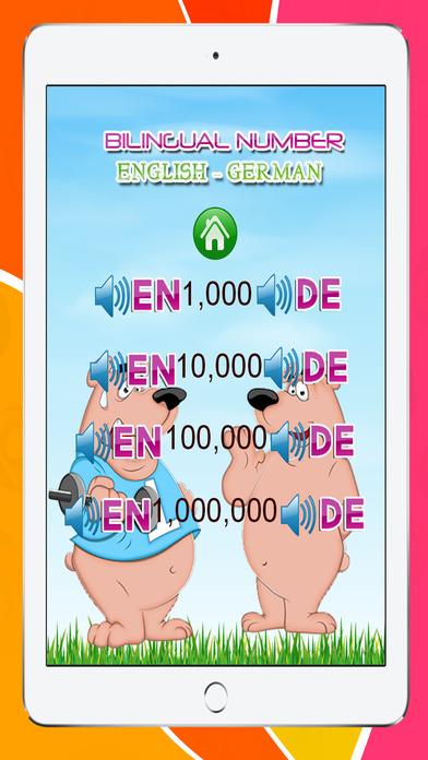 學習英語的德國1號到100個免費:教育,幼兒園和幼稚園