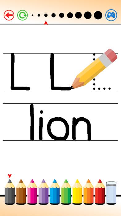 寫作 話, 信件 A到Z 和 填色本