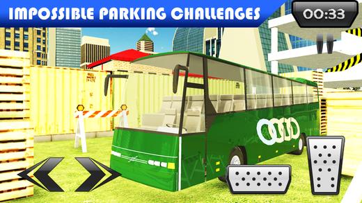 多层巴士停车和驾驶模拟器游戏