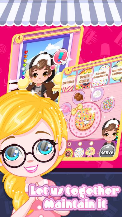 经营我的零食店 - 儿童游戏世界