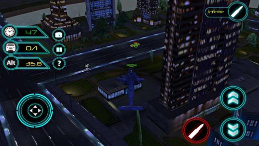 警用直升机与犯罪分子大通:Smashy警察