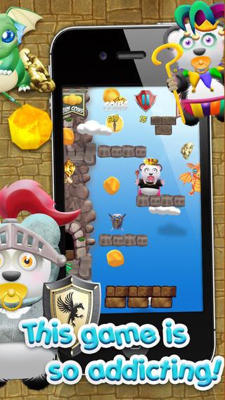 熊猫宝宝熊淘金王国HD战役 - 城堡跳转版免费游戏! Baby Panda Bears Battle of The Gold Rush Kingdom HD - A Castle Jump Edition FREE Game!