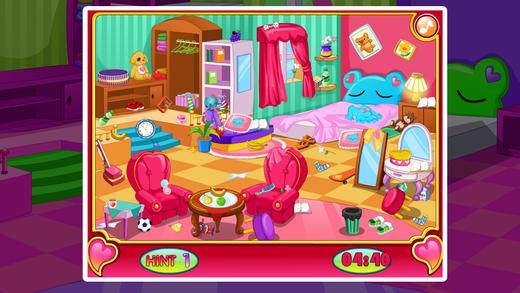 公主清洁房间游戏 ^oo^