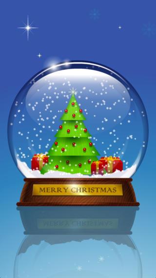 雪花水晶球-圣诞浪漫小礼物