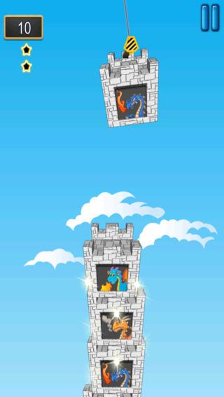 龙的天空塔 - 史诗古老的生物上升