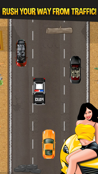 硝基高速公路飙车 - 争取成为一个快速和激烈的驱动器和流浪汉在快速车道的街道。