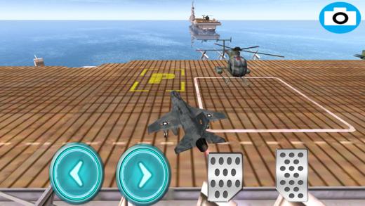 飞机游轮停泊模拟飞行