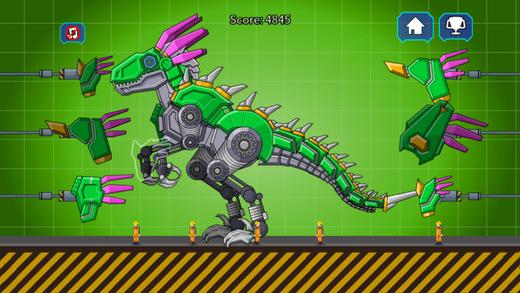 机器恐龙速龙大战