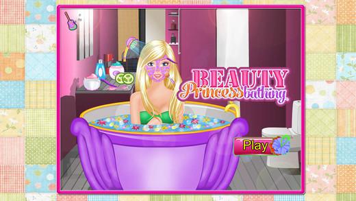 可爱公主的水润spa