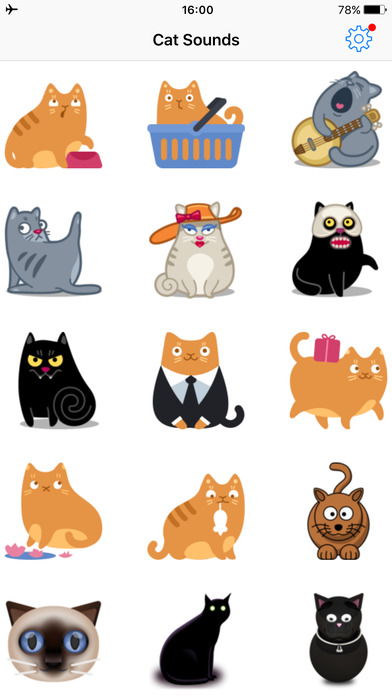 猫叫声-动物猫咪音效宠物认知