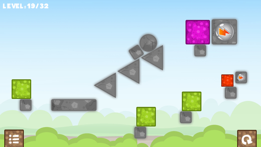 Boxes Physic - 经典儿童游戏 儿童教育游戏