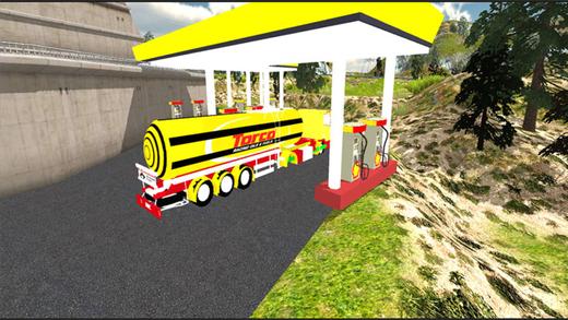 油拖车运输卡车3D:运输游戏