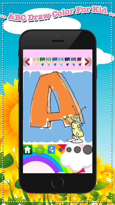 ! Abc 绘制颜色为孩子 - 一步通过想象你
