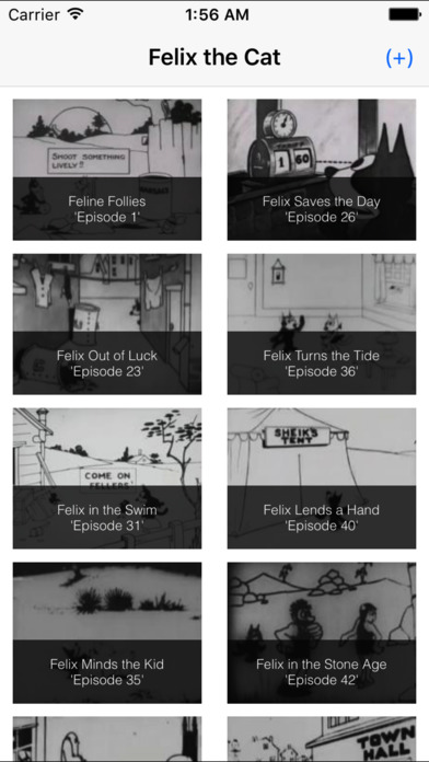 菲利克斯猫 - 免费卡通影片