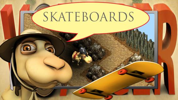 疯狂滑板比赛 (Sinbad the VOYAGER - Skateboard Race Mace Mania)