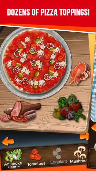 我的比萨饼店 - 比萨制作游戏