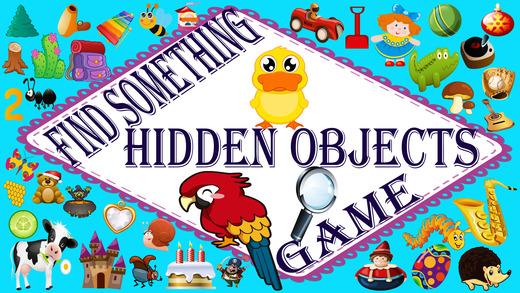 找到一些隐藏的对象游戏
