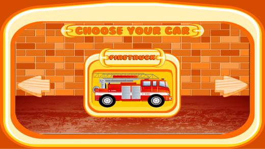 消防车赛车游戏