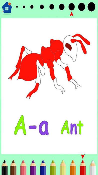 ABC字母学习的儿童