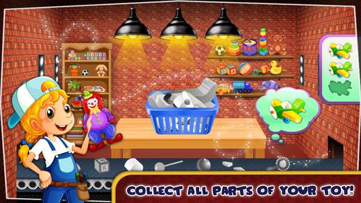 构建疯狂的玩具 - 修复,设计和装饰玩具这个有趣的游戏为孩子们