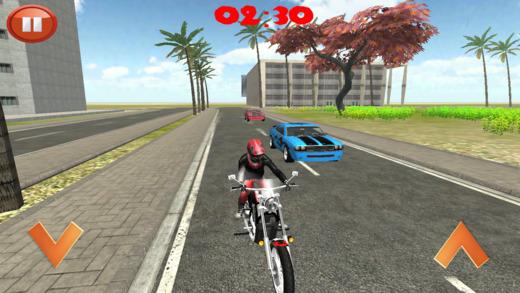 城市高速公路Moto漂移种族