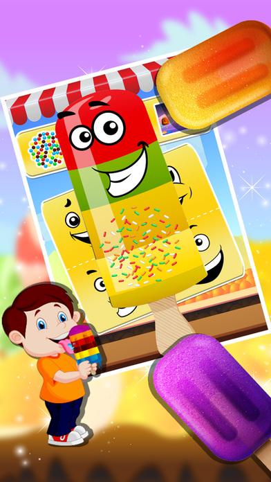 冰糖果制造商 - 制冰和果味冰棍这烹饪厨师游戏
