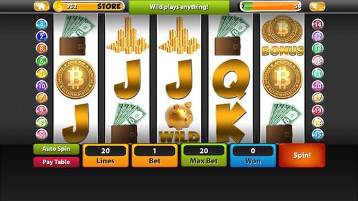 兆比特币老虎机 - 免费游戏为iPhone和iPad