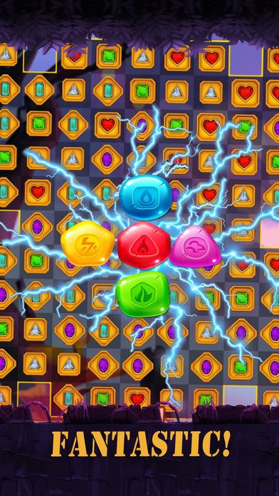 魔 配对3 - 最好匹配益智游戏