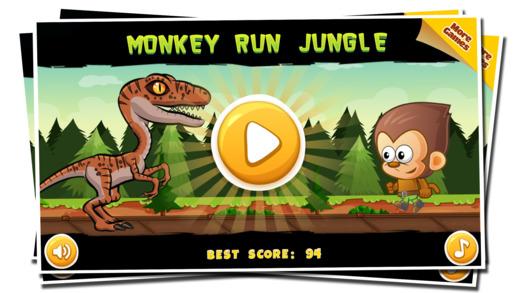 猴运行丛林探险世界 - 无尽的亚军