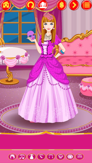 趣味公主时尚装扮——女孩专属游戏公司出品的免费游戏 (Princess DressUp: Beauty, Style and Fashion - Free Game by Games For Girls, LLC)