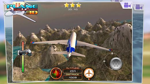 模拟飞行3D - 免费游戏