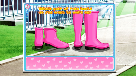 可爱雨鞋设计师