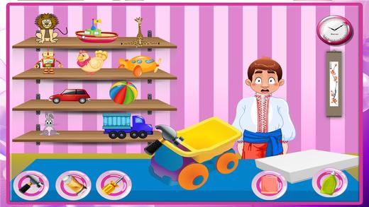 玩具修理店 - 修复 - 让小孩子的玩具在这个疯狂的机械师游戏