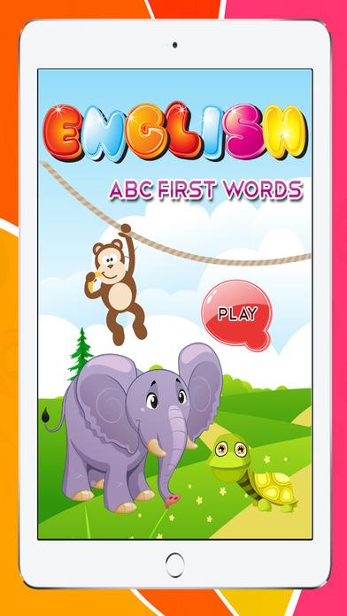 ABC的第一句话拼图幼儿和儿童