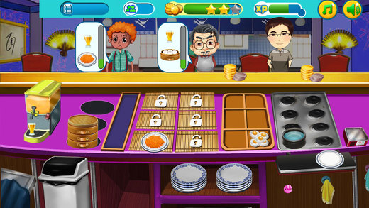 美食汉堡 - 模拟餐厅 经营类游戏