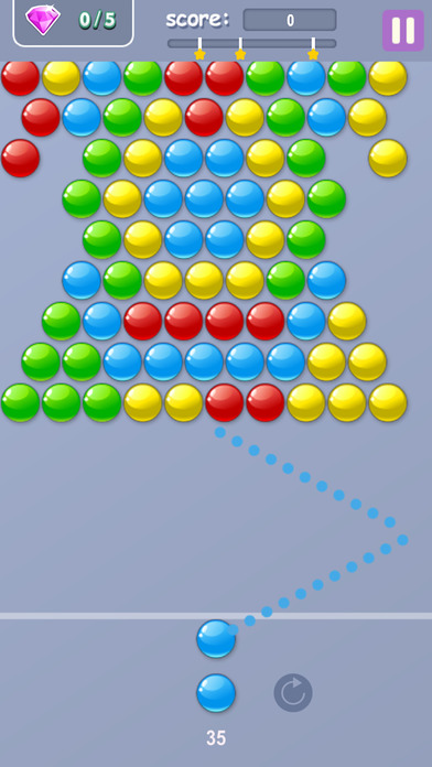 经典的泡沫 - 免费益智游戏拍摄女孩和男孩球传奇游戏