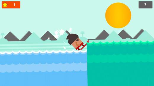 冲浪男孩:冲得越远越好