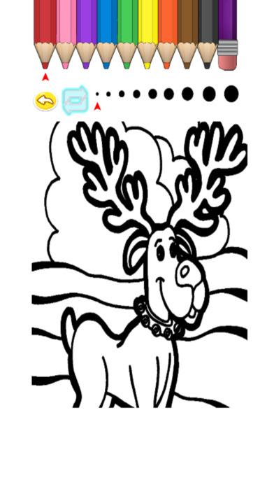 兒童圖畫書 - 可愛的卡通雪