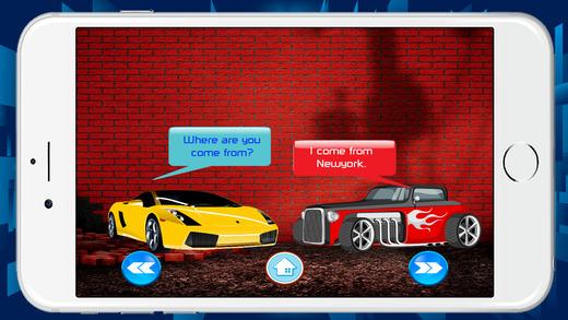 新手学习和拼写英语赛车免费